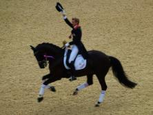 Carl Hester and Utopia celebrate Olympic gold!